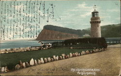 Lighthouse & Ness Postcard