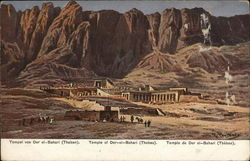 Temple of Der-el-Bahari Thebes