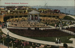 Redoubt Bandstand Postcard