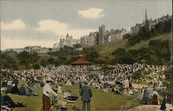 Band in Princes Street Gardens