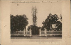 Enrance to Pamplemousses Gardens