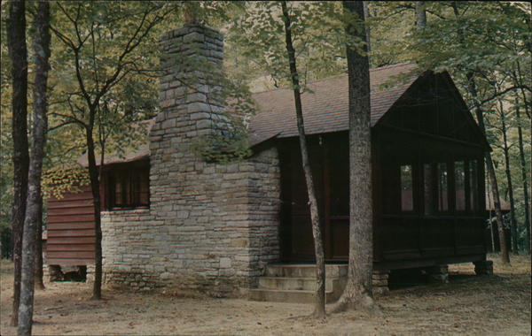 Vacation Cabin at Norris Dam State Park Tennessee