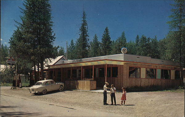 Eddy's Cafe-Apgar Village Glacier National Park Montana
