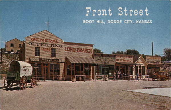 Front Street, Boot Hill Dodge City Kansas