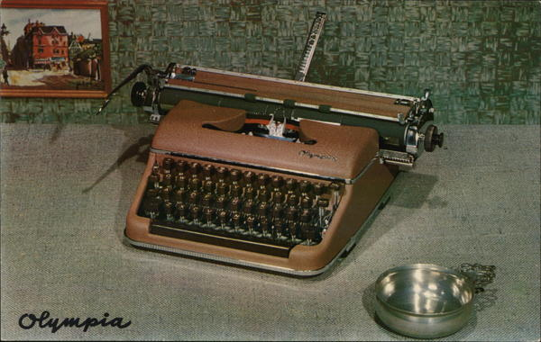Olympia Typewriter Advertising
