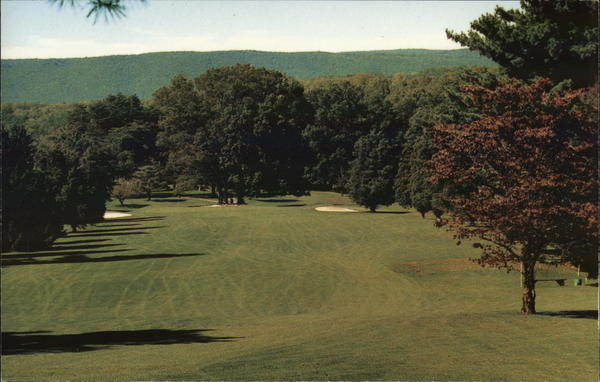 8th Hole Golf Course, Capon Springs and Farms West Virginia