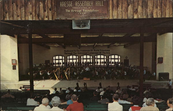 Kresge Assembly Hall Interlochen Michigan