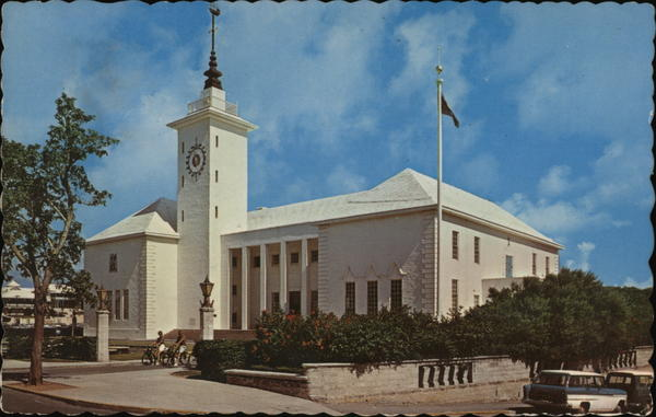 City Hall Hamilton Bermuda