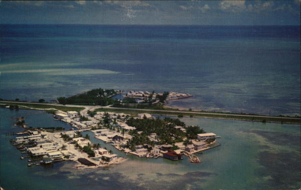 Aerial View of Conch Key Florida