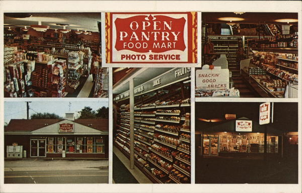 Open Pantry Food Mart Advertising