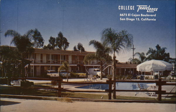 College Travel Lodge San Diego California