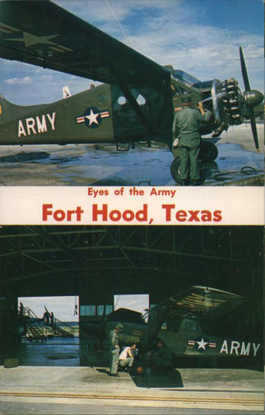 Eyes of the Army Fort Hood Texas Military
