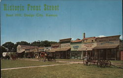 Historic Front Street Boot Hill