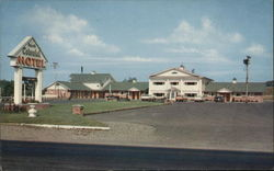 Dewitt Colonial Motel Postcard