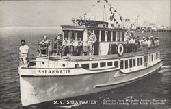 "M.V. ""Shearwater"" Operates from Magnolia Avenue Pier and Pierpoint Landing."