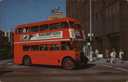 Two-Decker London Transport Bus