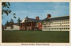 Furman University - Classroom Building Postcard