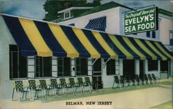 Evelyn's Sea Food Restaurant Postcard