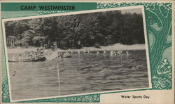Camp Westminster, Water Sports Day