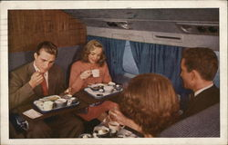 Mealtime, United Airlines