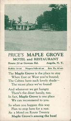 Price's Maple Grove Motel and Restaurant
