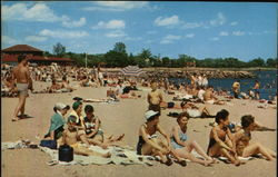Bathing Beach at Cummings Park
