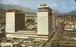 Monterrey Building and Panoramic View