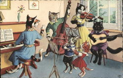A Musical Family of Cats