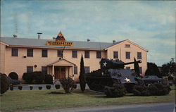 Headquarters Building, 2nd Armored Division Postcard