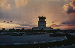 Hollywood-Fort Lauderdale International Airport at Sunset
