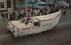 1st Prize Float, Memorial Day Parade - May 29, 1966