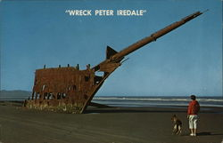 "Wreck of the ""Peter Iredale"", Fort Stevens State Park"