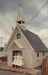 Oregon Centennial Exposition - Church at the Frontier Village