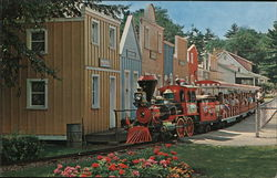 Miniature Railroad Postcard
