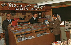 The Plain and Fancy Coin Shop