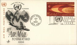 United Nations Air Mail Postage