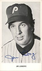 Jim Lonborg - Signed