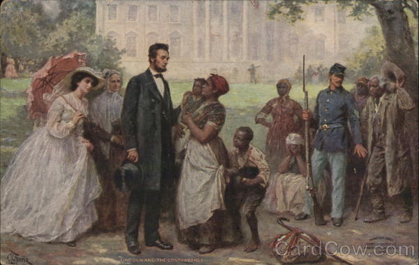 Lincoln and the Contrabands Presidents Black Americana