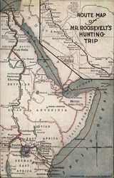 Route Map of Teddy Roosevelt's Hunting Trip