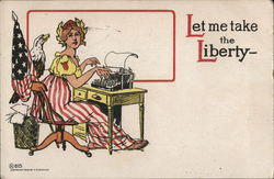 Lady Liberty Typing