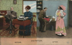 Dictation Postcard