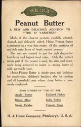 Heinz Girl: Mamma's Favorites Peanut Butter