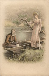 Couple with Rowboat