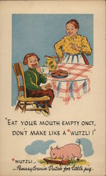 Eat Your Mouth Empty Onct - Pennsylvania Dutch