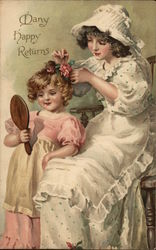Little Girls Doing their Hair