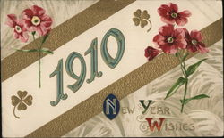 New Years Wishes 1910