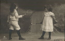 Children Playing Tennis