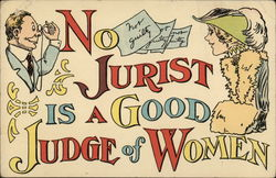 No Jurist Is A good Judge Of Women
