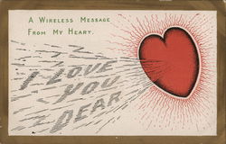 A wireless Message From My Heart. I Love You Dear