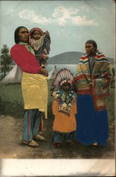 Apache Indian Family